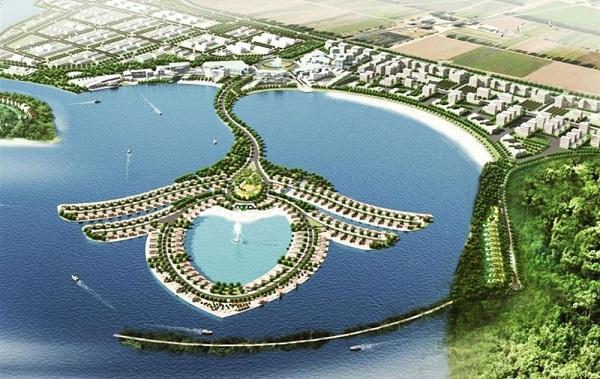 Phối cảnh dự án Khu phức hợp Vịnh Đầm 300 ha tại Phú Quốc